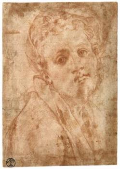 Pontormo. Autoportrait présumé (1526-1528)