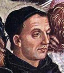 Portrait posthume de Fra Angelico par Luca Signorelli