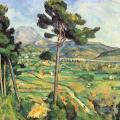 Cézanne. Montagne-Sainte-Victoire, 1882-85