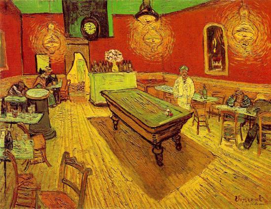Van Gogh. Café de nuit, 1888