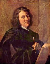 Poussin. Autoportrait (1649)