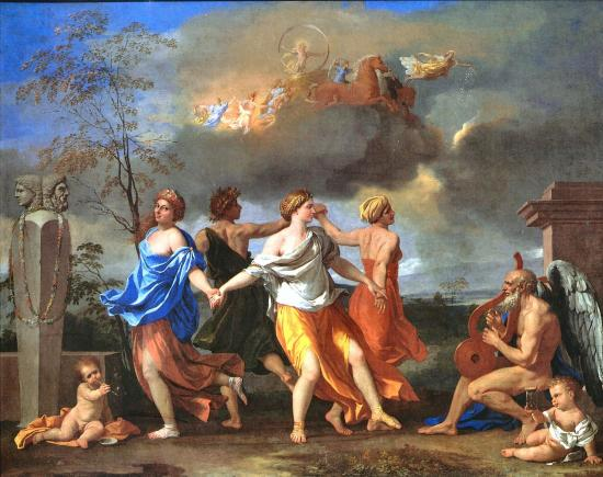 Poussin. La danse de la vie humaine (1633-34)