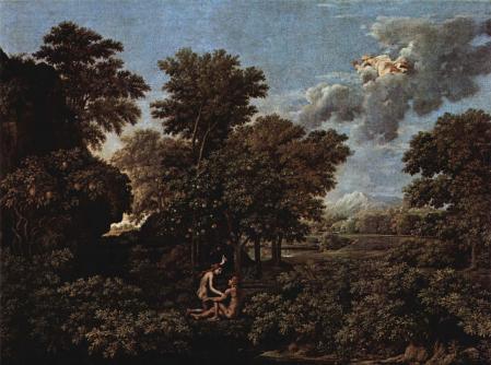 Nicolas Poussin. Le Printemps ou Le Paradis terrestre (1660-64)