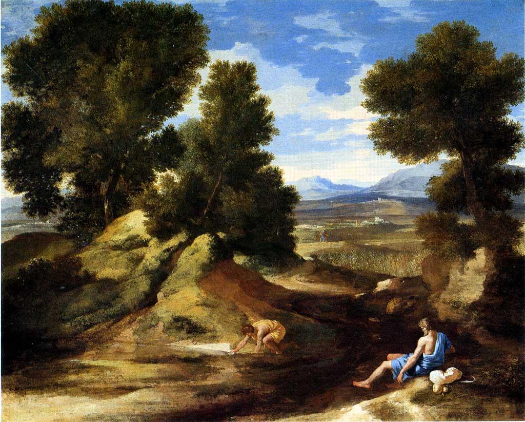 Histoire de la peinture de paysage au 17e si cle for Paysage francais