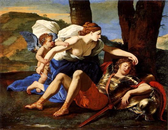Poussin. Renaud et Armide (1624-25)