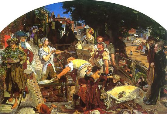 Ford Madox Brown. Work (1852-53)