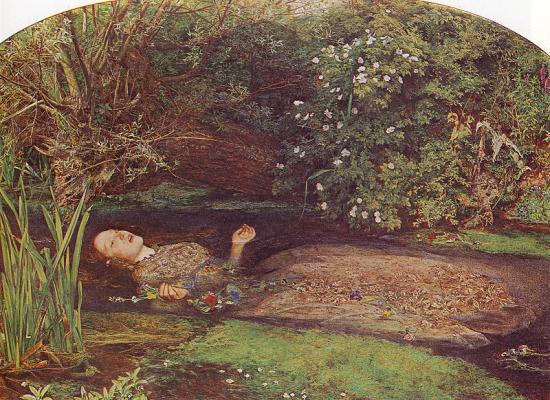 Millais. Ophelia (1851-52)