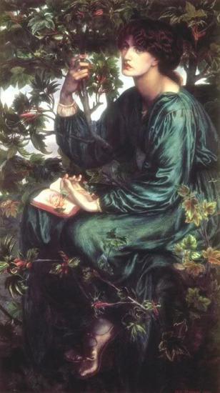 Rossetti. The Day Dream (1880)