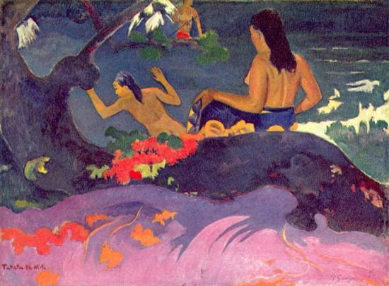 Gauguin. Fatata Te Miti (1892)
