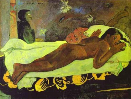 Gauguin. Manao tupapau ou L'esprit des morts veille (1892)