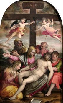 Prospero Fontana. La déposition (1563)