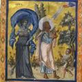 Psautier de Paris, folio 435v (10e s.)