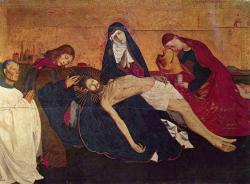 Quarton. Pietà de Villeneuve-lès-Avignon (1454-56)