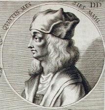 Quentin Metsys par Joachim von Sandrart (gravure, 1675)