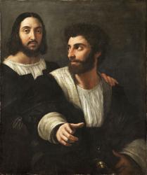 Raphaël. Autoportrait avec un ami (1518-19)