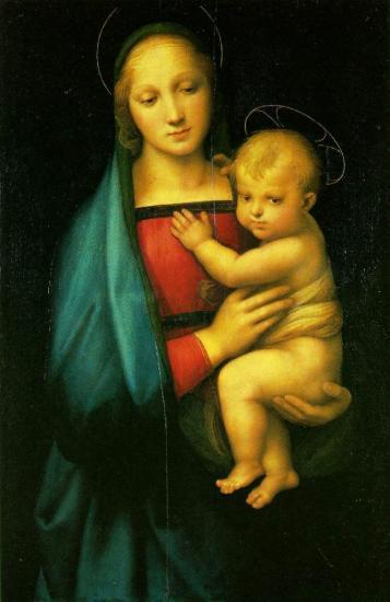 Raphaël. La Madone du Grand-Duc (1505)
