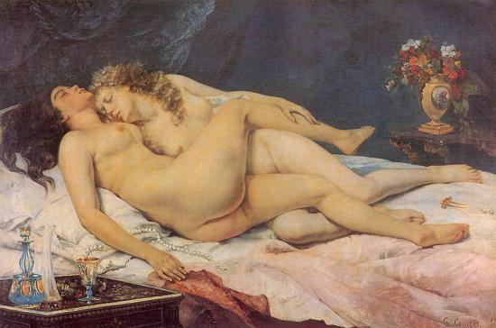 Courbet. Le Sommeil (1866)