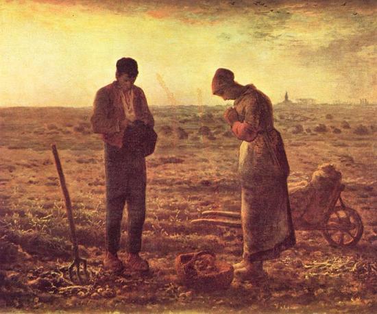 Millet. L'Angélus (1857-59)