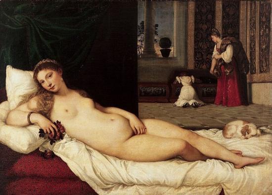 Titien. Vénus d'Urbino (1538)