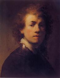 Rembrandt.Autoportrait (1629)