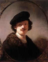 Rembrandt. Autoportrait (1634)