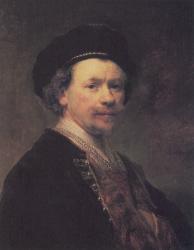 Rembrandt. Autoportrait (1640)