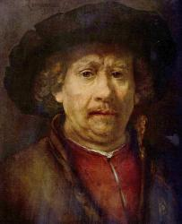 Rembrandt. Autoportrait (1655)