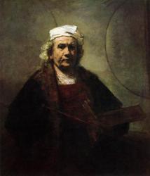 Rembrandt. Autoportrait (1661)