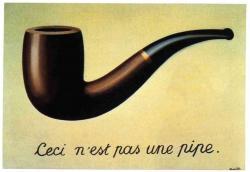 René Magritte. La trahison des images (1929)
