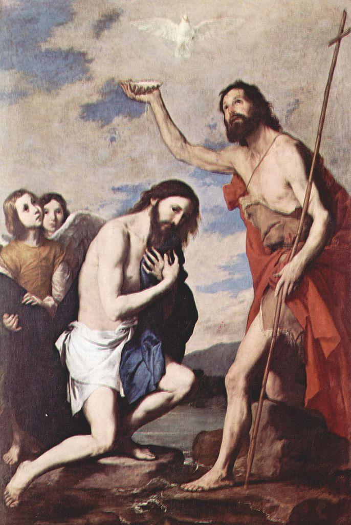 TABLEAU POÉTIQUE DES SACREMENTS EN GÉNÉRAL.  Vicomte Walsh – 1852 Ribera-le-bapteme-du-christ-1643