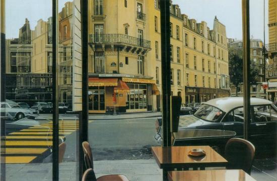 Richard Estes, Café Express (1975)
