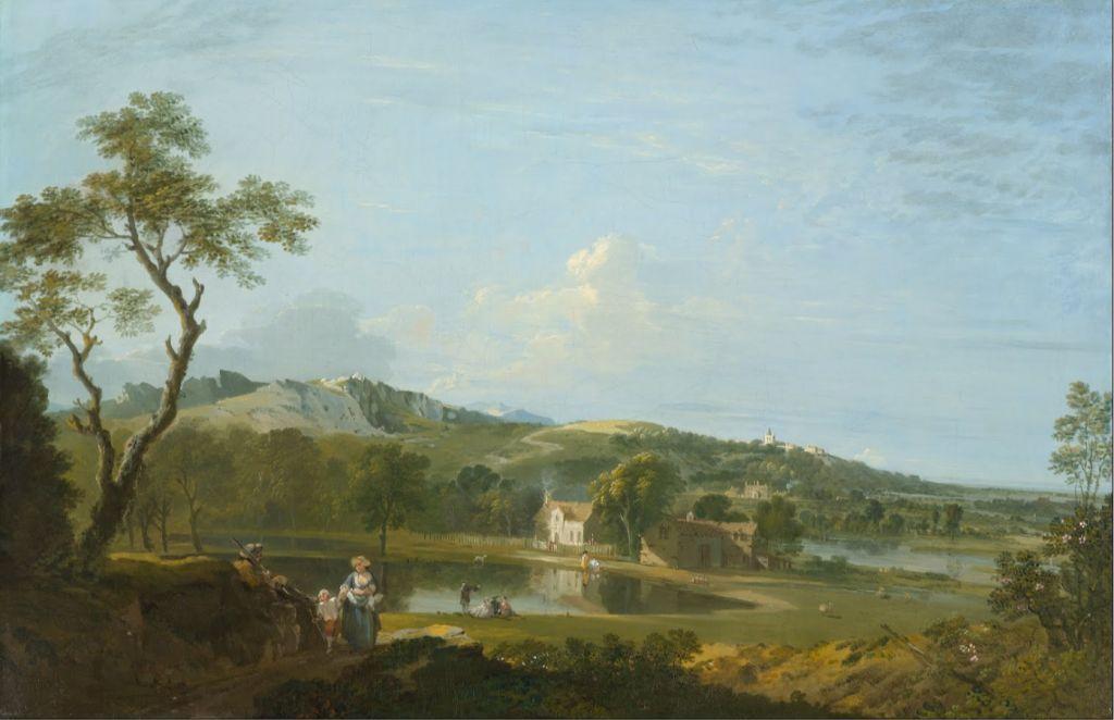 Biographie et uvre de richard wilson peintre britannique for Artiste peintre anglais