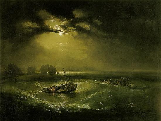 Turner. Pêcheurs en mer (1796)