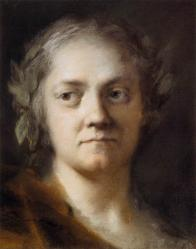 Rosalba Carriera. Autoportrait (1746)