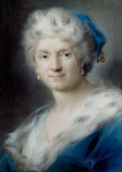 Rosalba Carriera. Autoportrait en Hiver (1731)