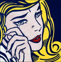 Roy Lichtenstein. Crying girl (1964)