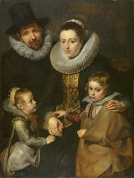 Rubens . Famille de Jan Brueghel (1612-13)