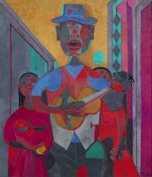 Rufino Tamayo. Le troubadour (1945)