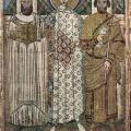 Saint Démétrios et les deux donateurs (7e s.)