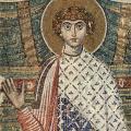 Saint Georges, détail (7e s.)