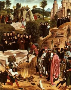 Gérard de Saint-Jean. Les reliques de saint Jean-Baptiste (1480-95)
