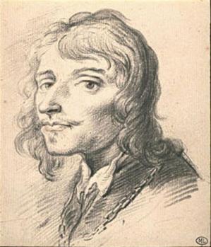 Sébastien Bourdon. Autoportrait (17e s.)