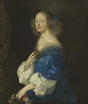 Sébastien Bourdon. Comtesse Ebba Sparre (1652-53)
