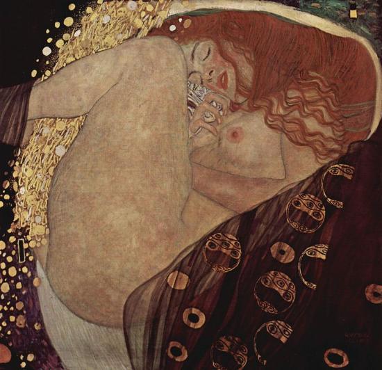 Klimt. Danaé, 1907-08