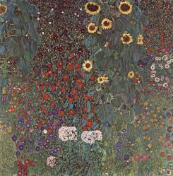 Klimt. Le Jardin au tournesol, 1905-06