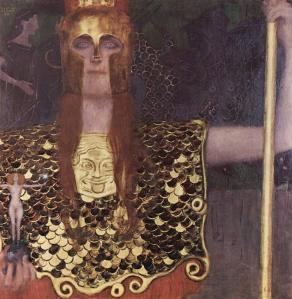 Klimt. Pallas Athena,1898
