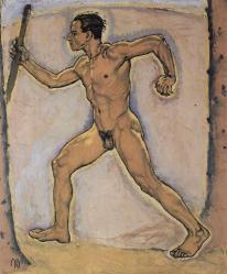 Moser. Le Promeneur, 1915