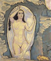 Moser. Vénus dans la Grotte, 1915