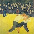 Paul Sérusier. La lutte bretonne (1891)
