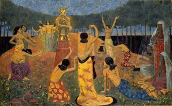 Paul Sérusier. Les filles de Pelichtim (1908)